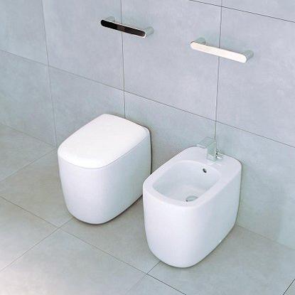 Sanitari small per piccoli bagni idea arredo - Sanitari bagno beige ...